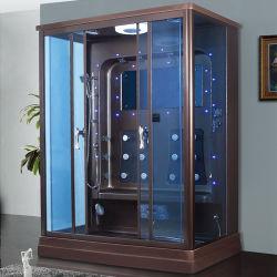 Meerkleurige Led Licht Aqua Glas Sex Steam Bath Douchekamer