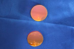 カスタムサイズ高品質 ZnS レーザー保護窓(コーティング付き)