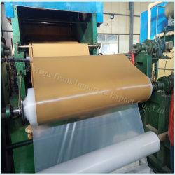 Hersteller-Futter-Abnützung-Schutz-Gummifabrik-Preisrote Tan-Farben-Abnutzungs-beständige Gummiblatt-Rolle