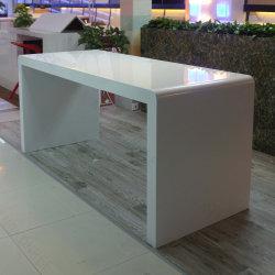 Alta Tabella di superficie solida di marmo artificiale lunga su ordine della barra