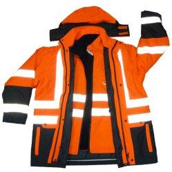 3 em 1 de inverno 3m reflexivo à prova de desgaste de trabalho de segurança