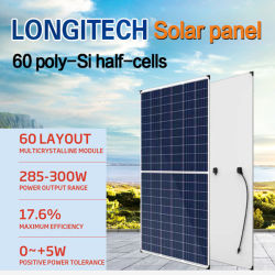 Painel Solar- 60 Poly-Si Half-Cells