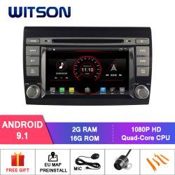 Automobile DVD del sistema del Android 9.1 di Witson per il bravo di FIAT