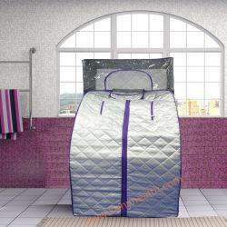 Sauna bagnata portatile con il generatore di vapore e Headcover per l'ente completo come vasca da bagno della stanza da bagno