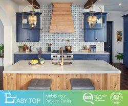 China fornecedor venda Novo Modelo comercial Modular armário de cozinha sólidos de madeira clássico mobiliário antigo