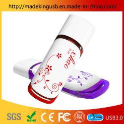 De plástico personalizada Personalized porcelana azul y blanco de la unidad Flash USB.