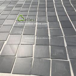 Les carreaux de revêtement de sol perfectionné ardoise noire 300x300x10mm