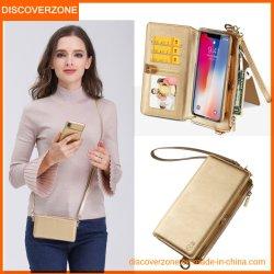 Las chicas llegaron nuevas bolsas de hombro la cartera de teléfonos móviles de los casos para el iPhone Xs máx.