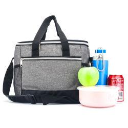 Isolation thermique des aliments réutilisables transporter le sac du refroidisseur, pique-nique sac à lunch du refroidisseur de conditionnement physique pour les hommes