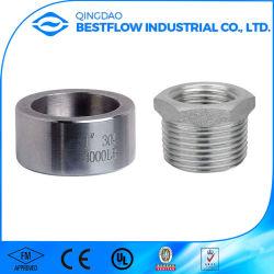 Forgé en acier galvanisé Merchant couplage fileté/raccord de tuyauterie en acier inoxydable