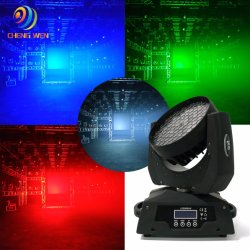 Цвет смеси ступени 108 ПК LED Wash перемещение головки DJ фонарь