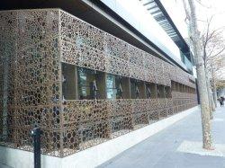 Cortina decorativos de parede metálica da placa metálica decorativa