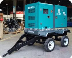 tipo generatore diesel silenzioso del rimorchio 20kVA per il servizio della Malesia