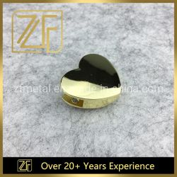 Fermeture magnétique Heart-Shaped Accessoires pour le portefeuille de métal