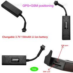 Waterdichte GPS van het Voertuig van de Batterij van Changeble 3.7V 1500mAh Li-IonenDrijver T806