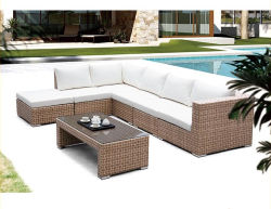 Aangepaste Factory English Garden Outdoor Rattan Leisure Sofa
