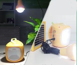 Lampada di mano di campeggio esterna solare portatile, forte proiettore chiaro