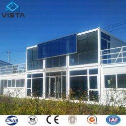 Het economische en Praktische Huis van de Container voor Snelle Installatie van Geprefabriceerd huizen in de Gebouwen van het Bureau