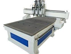 マルチプロセス空圧式木工 CNC ルータマシン