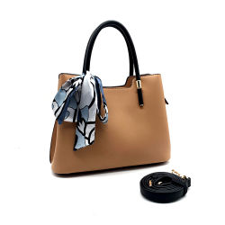 Tote Handbag OEMの新しいモデルの方法PUの革女性