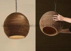 注文の様々な創造的な装飾的な波形のペーパーランプ