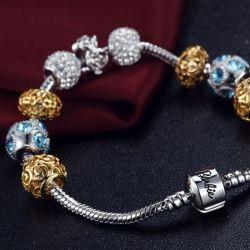 La Chine fournisseur charmes de la mode en alliage de zinc Bracelet Bangle Bracelet en émail