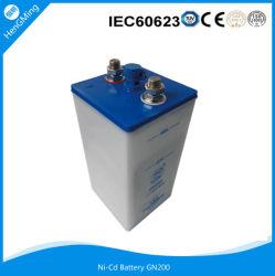Batterie au nickel-cadmium/ batterie Ni-CD// de la batterie rechargeable Batterie UPS 1,2V 200Ah pour la vente