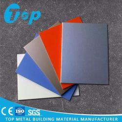 De Houten Marmeren Muur van de Bekleding van het Aluminium van het Graniet PVDF Comité Gekleurde