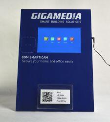 Acrylic/Pop Papelão Vídeo LCD exibir Multimedia player monitor da TV