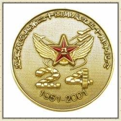 La Insignia de recuerdos personalizados baratos en blanco común de la medalla de Premio Deporte insignia del botón
