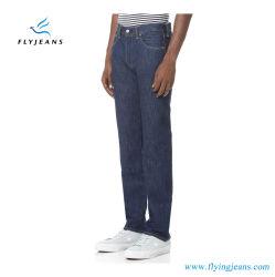 はえのジーンズによる人のための普及した元の淡いブルーのデニムのジーンズ