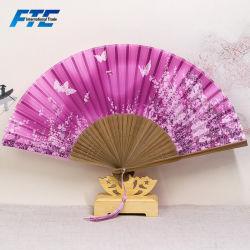 21см поощрения стороны электровентилятора системы охлаждения двигателя OEM бамбуковые ручки вентилятор с помощью ткани