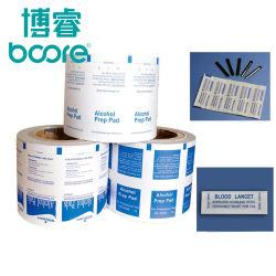 O alumínio folha de papel para o sangue Lancet Package