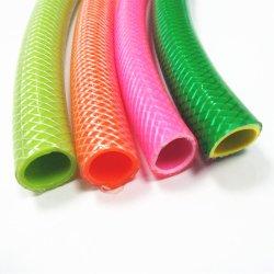 Не перегибайте гибкие волокна экранирующая оплетка усиленная ПВХ сад шланга трубки подачи воды для орошения