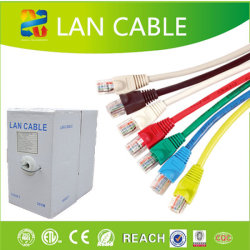 Câble réseau Cat 6 UTP 23AWG Ce/RoHS Câble LAN