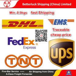 Los servicios de mensajería urgente a la Arabia Saudita desde China/Guangzhou y Shenzhen y Hong Kong DHL agent