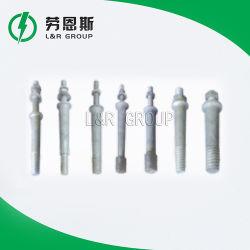 핀 유형 절연체, 절연체 핀 부속품의 ANSI 및 BS 스핀들