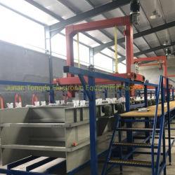 Le zingage Machine/Zinc baril avec placage de galvanoplastie Machine/bon prix pour l'argent de l'équipement de placage de galvanoplastie