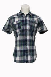 OEM-Бутик короткие рукава рубашки Повседневные рубашки для мужчин