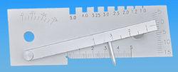 Präzisions-Schweißungs-Fuss-Anzeigeinstrument-messende Hilfsmittel