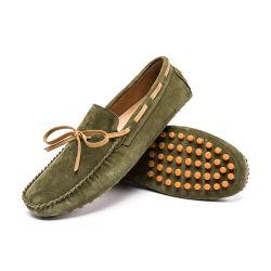 Moda quente homens Altura Vaca Loafers Suede Calçados confortáveis Bomba Wearable Loafers impermeável de calçado
