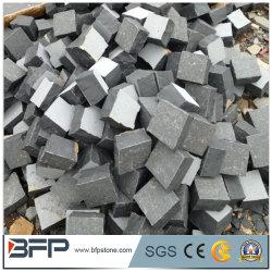 China pas cher de granit gris G603 Paving Stone / Cube / Pierre de galets sur le réseau maillé