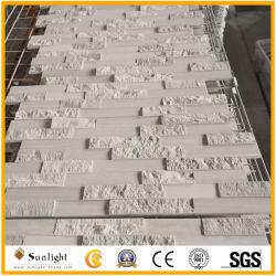Bon marché De marbre en bois blanc de l'Ardoise Pierre de la culture pour les panneaux muraux