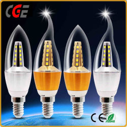 Kerze-Form-der Birnen-3With5With7W C35 Lampen-Verteiler der LED-Glühlampe-E14 LED Kerze-der Lampen-LED der Beleuchtung-LED der Birnen-LED heller der Lampen-LED