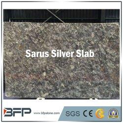 Importados Sarus Lajes de granito de prata para bancadas de cozinha