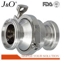 3Um SMS DIN Sanitária de aço inoxidável 304 316L NÃO rosca da válvula de retorno da válvula de retenção
