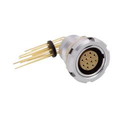 Совместимые M15 ЭКГ 2B 2 3 4 5 6 7 8 10 12 14 16 18 19 Контакт две гайки с коленом контакт для печатной