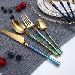 لون كلاسيكيّة فضّيّ مائدة عمليّة إعداد علاوة 18/10 يتزوّج [تبل-ستّينغ] [ستينلسّ ستيل] سكينة مجموعة