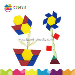 China-Spitzenverkaufs-neues populäres Plastikkind-Block-Geometrie-Puzzlespiel-Spielzeug