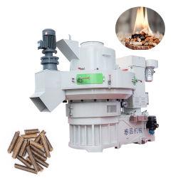 Pastillas de combustible cascarilla de arroz que el aserrín de madera/Línea de prensa de pellet biomasa/ precio de la máquina de peletización Proveedor de China